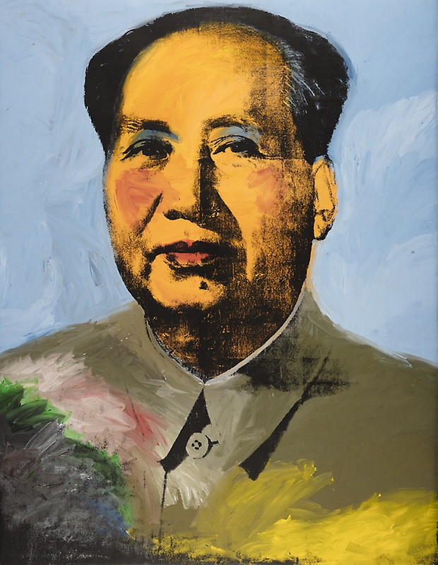 Andy Warhol Mao painting Art Institute Chicago